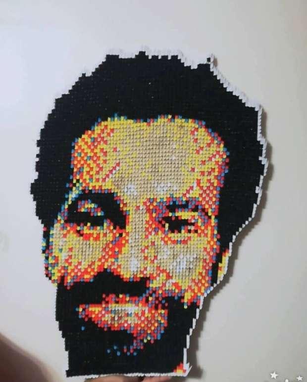 صور.. تعرف على أبطال فيديو محمد صلاح