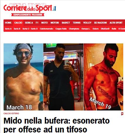 ميدو يخطف أنظار الصحف الإيطالية!