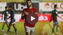 أهداف الأهلي ومصر المقاصة بالدوري المصري