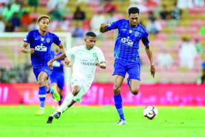 الهلال يقضي على آمال الأهلي في البطولة العربية
