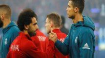 تقارير: ريال مدريد يحرم صلاح من مجاورة رونالدو