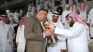 الظاهرة رونالدو يُتوج النجم بلقب البطولة العربية