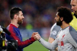 """برشلونة يوجه رسالة """"خاصة"""" لمحمد صلاح!"""