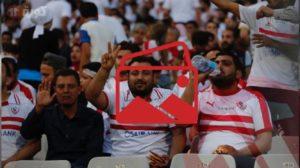 """كاميرا كورة11 ترصد: جمهور الزمالك يزين برج العرب """"أجواء رمضانية وفطار في الملعب"""""""