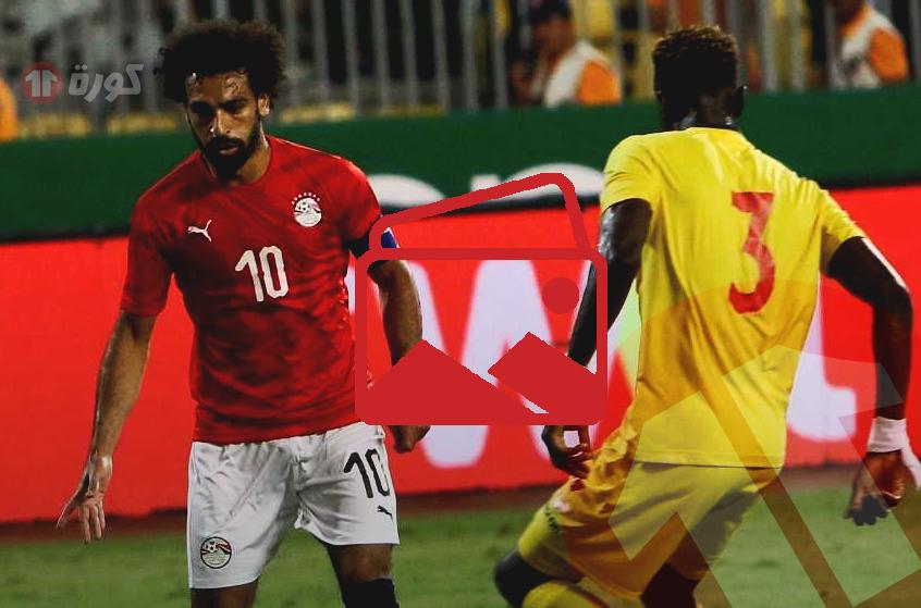 صور - ما لم ترصده الكاميرات خلال مباراة مصر وغينيا