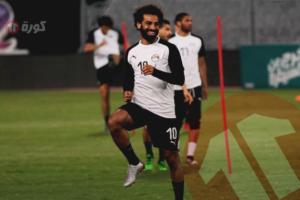 صور- صلاح يشعل مران المنتخب