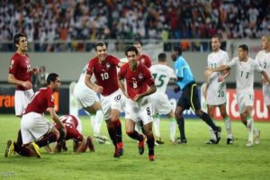 """تاريخ الفراعنة """"بشرة خير"""" لمنتخب الجزائر للفوز على السنغال"""