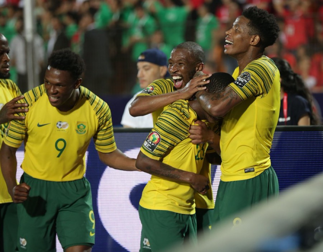 مهاجم جنوب إفريقيا: المدرب شرح لنا هدف الفوز على مصر قبل المباراة!