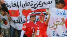 بالصور - حسناوات المغرب وتضامن مصري مع الأشقاء يزين مدرجات استاد السلام
