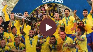 فيديو - البرازيل بطلة كوبا أمريكا