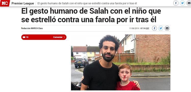 على خطى بابا نويل.. الصحافة العالمية تتغزل في جنون أفعال صلاح!
