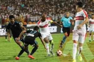 بين الشوطين: حراس المرمى يحافظوا على حظوظ الزمالك وبيراميدز للفوز بكأس مصر