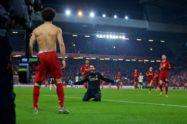 أليسون يكشف سر احتفاله التاريخي بهدف صلاح القاتل في مانشستر يونايتد